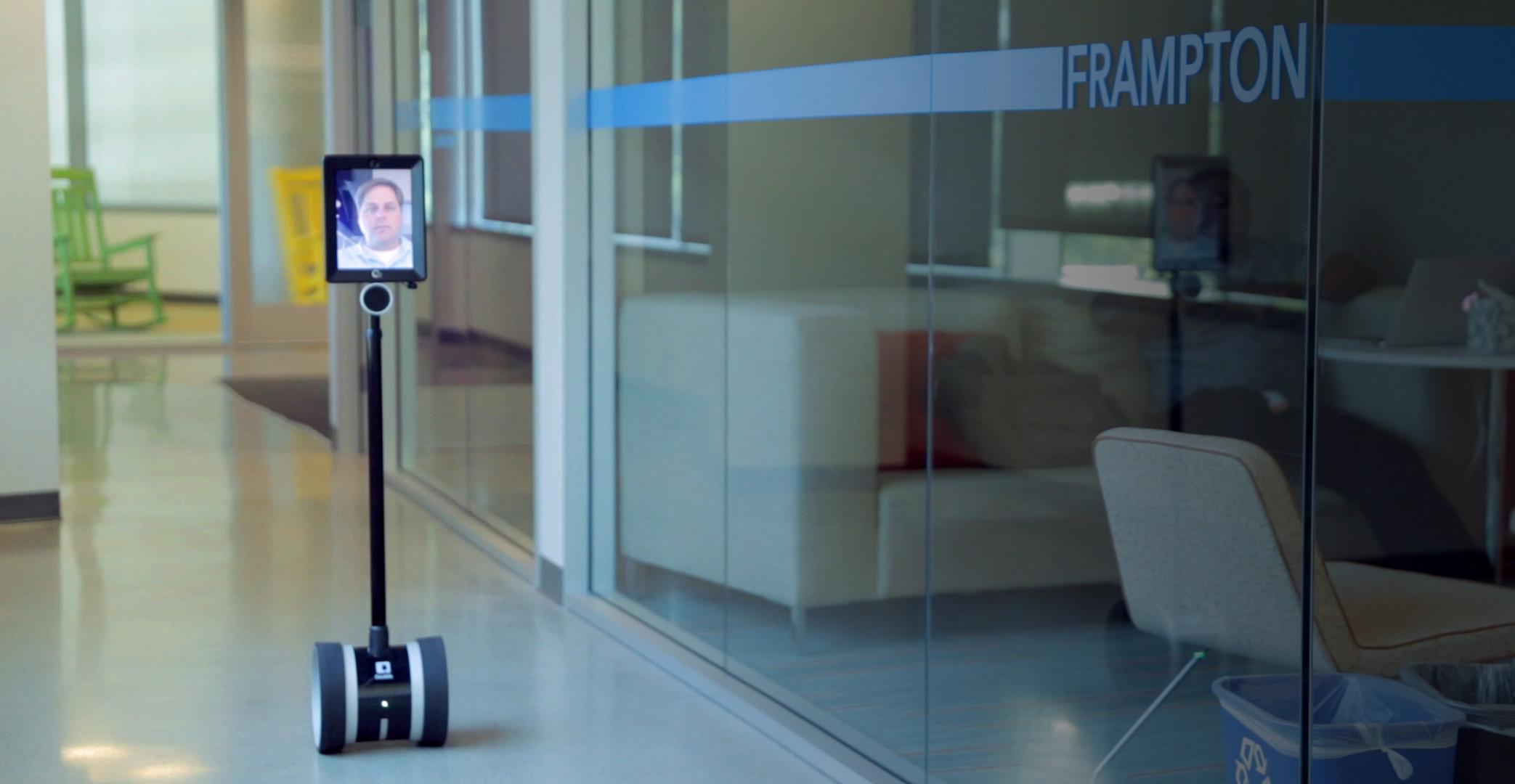 Modern Classroom Setting ~ Double robotics telepresence robot for telecommuters